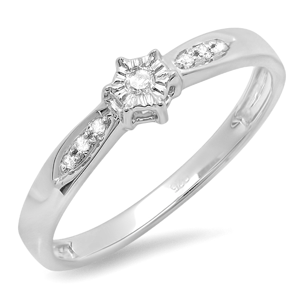 Wholesale Diamond Ring - Dazzling Rock