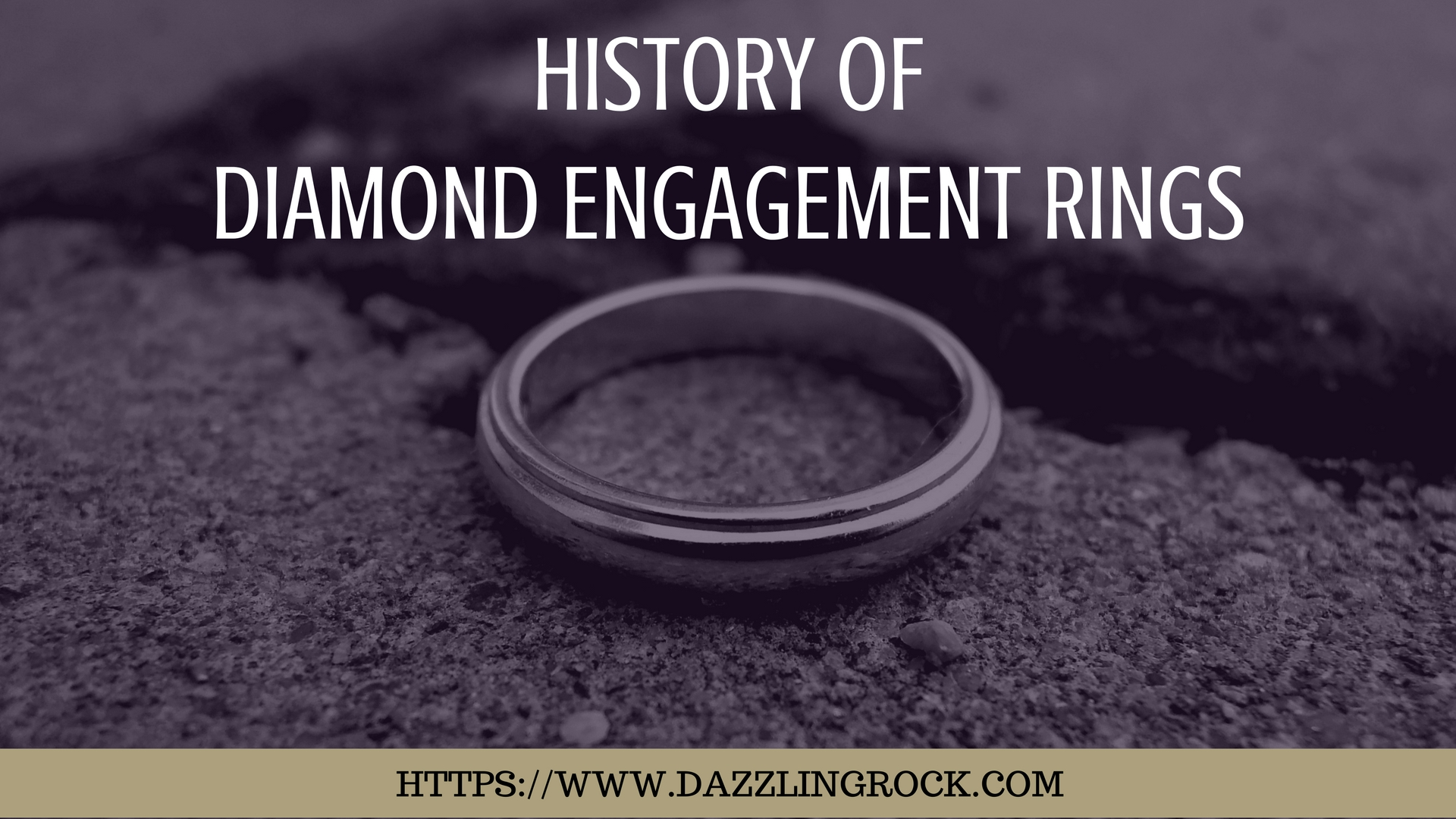 History of Diamond Engagement Rings - dazzlingrock.com