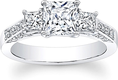 Tips To Keep Your Princess Cut Diamond Engagement Ring Glowing