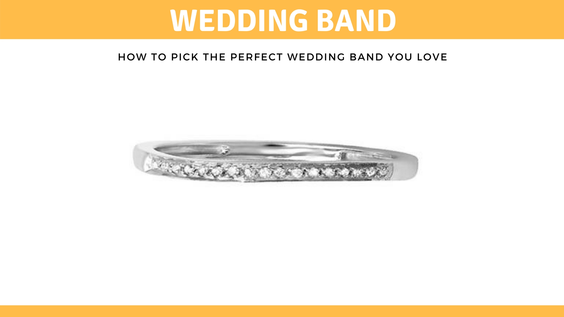 How To Pick The Perfect Wedding Band You Love- Dazzling-rock