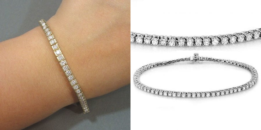 Sparkling Tennis Diamond Bracelet