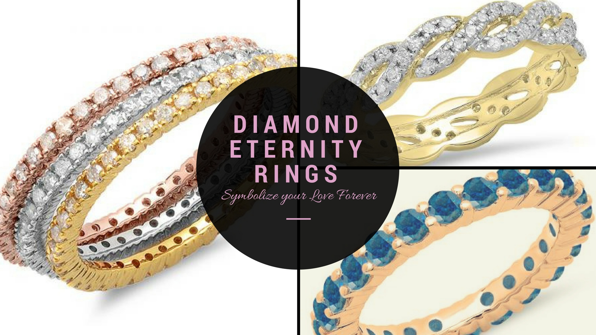 Diamond Eternity Rings Symbolize your Love Forever!
