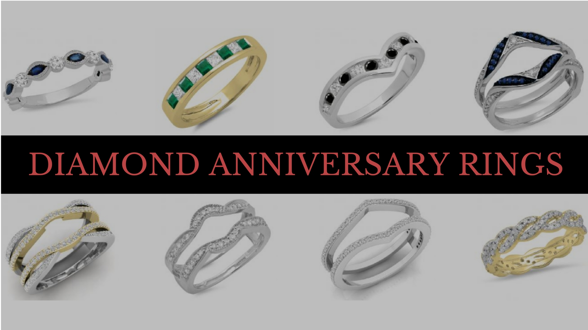 Diamond Anniversary Rings for Him and Her! - Dazzling rock
