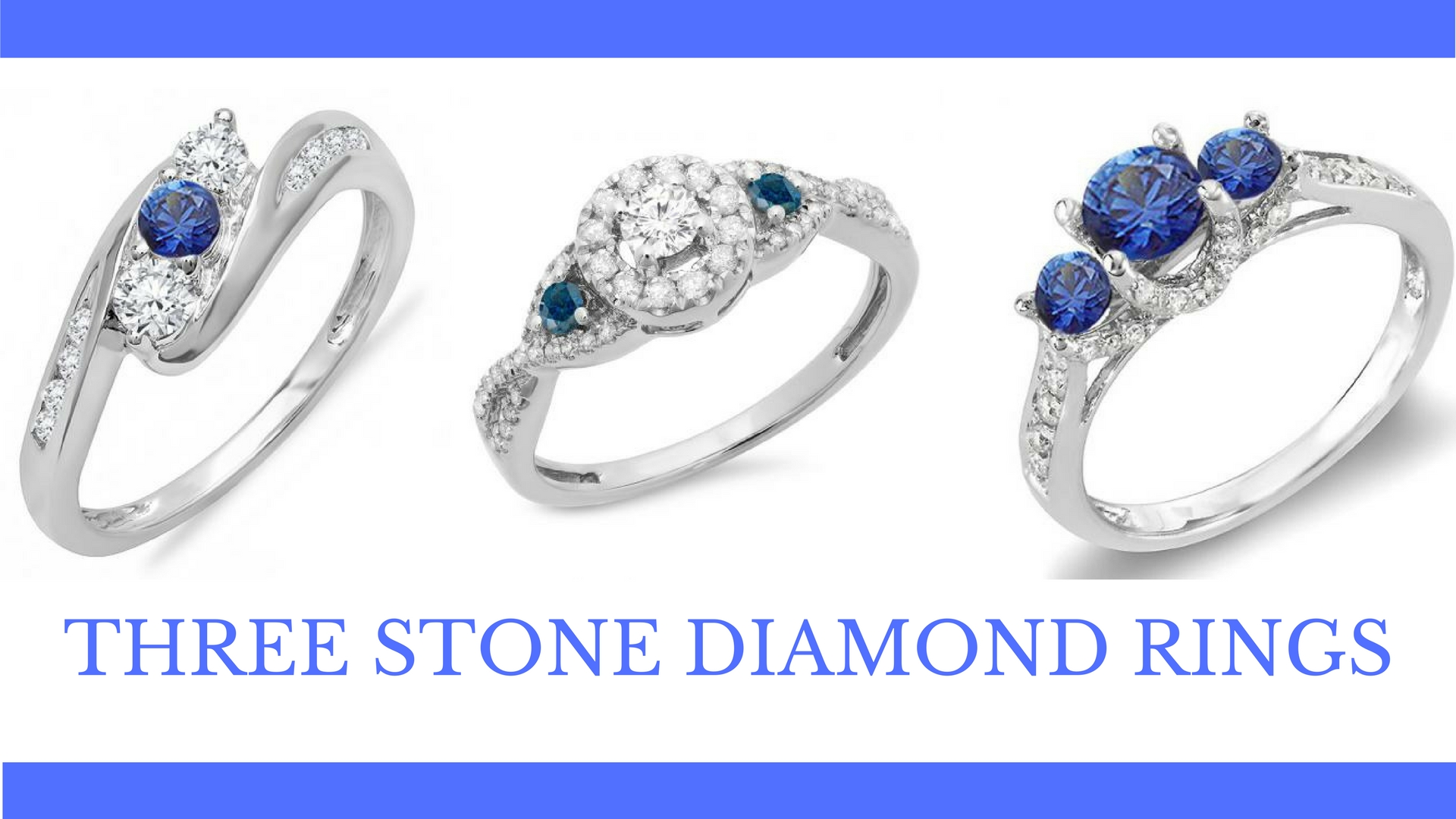 Why Should You Opt For Three Stone Ring? - dazzling rock