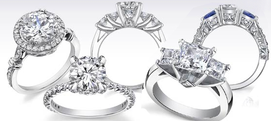 The Right Metal for your Unique Diamond Rings - dazzling rock