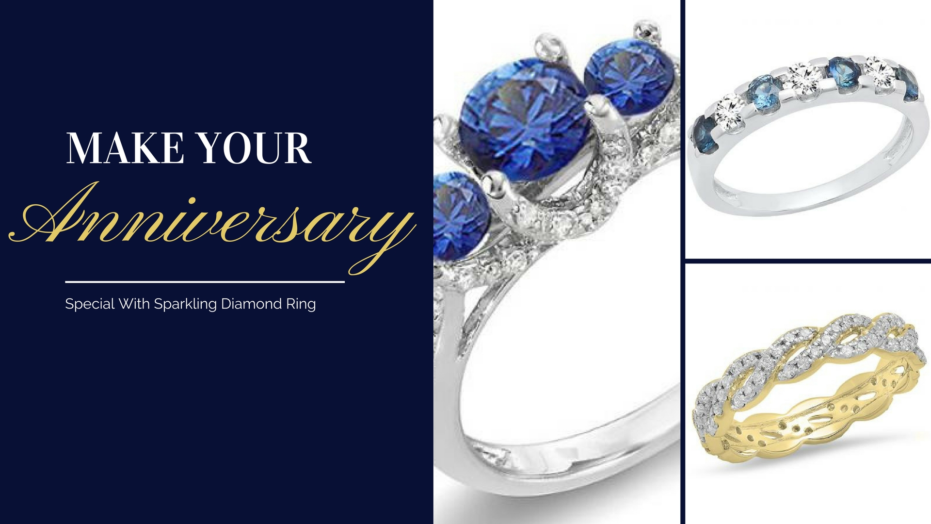 Make Your Anniversary Special With Sparkling Diamond Ring - dazzlingrock