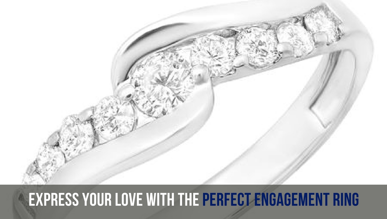 Express Your Love With The Perfect Engagement Ring - dazzling rock