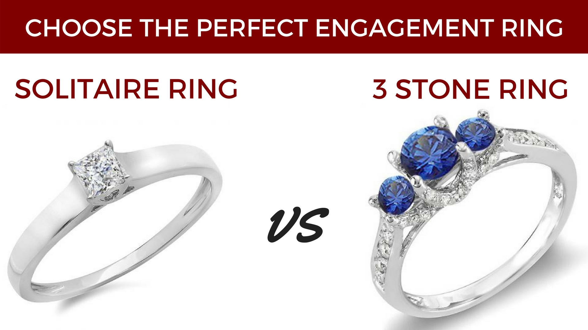 Solitaire Vs Three Stone Choose The Perfect Engagement Ring