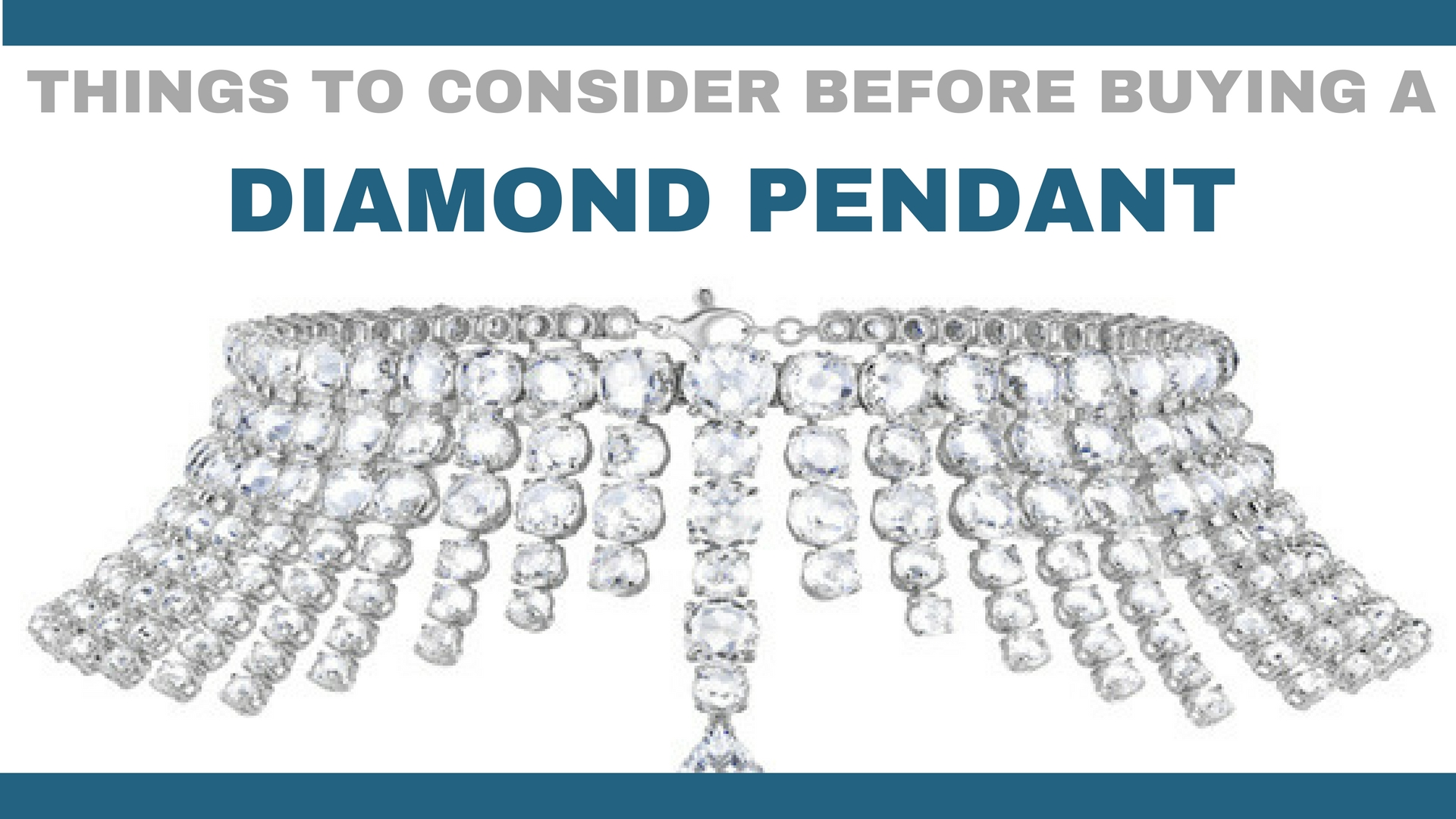 Things To Consider Before Buying A Diamond Pendant - dazzling rock