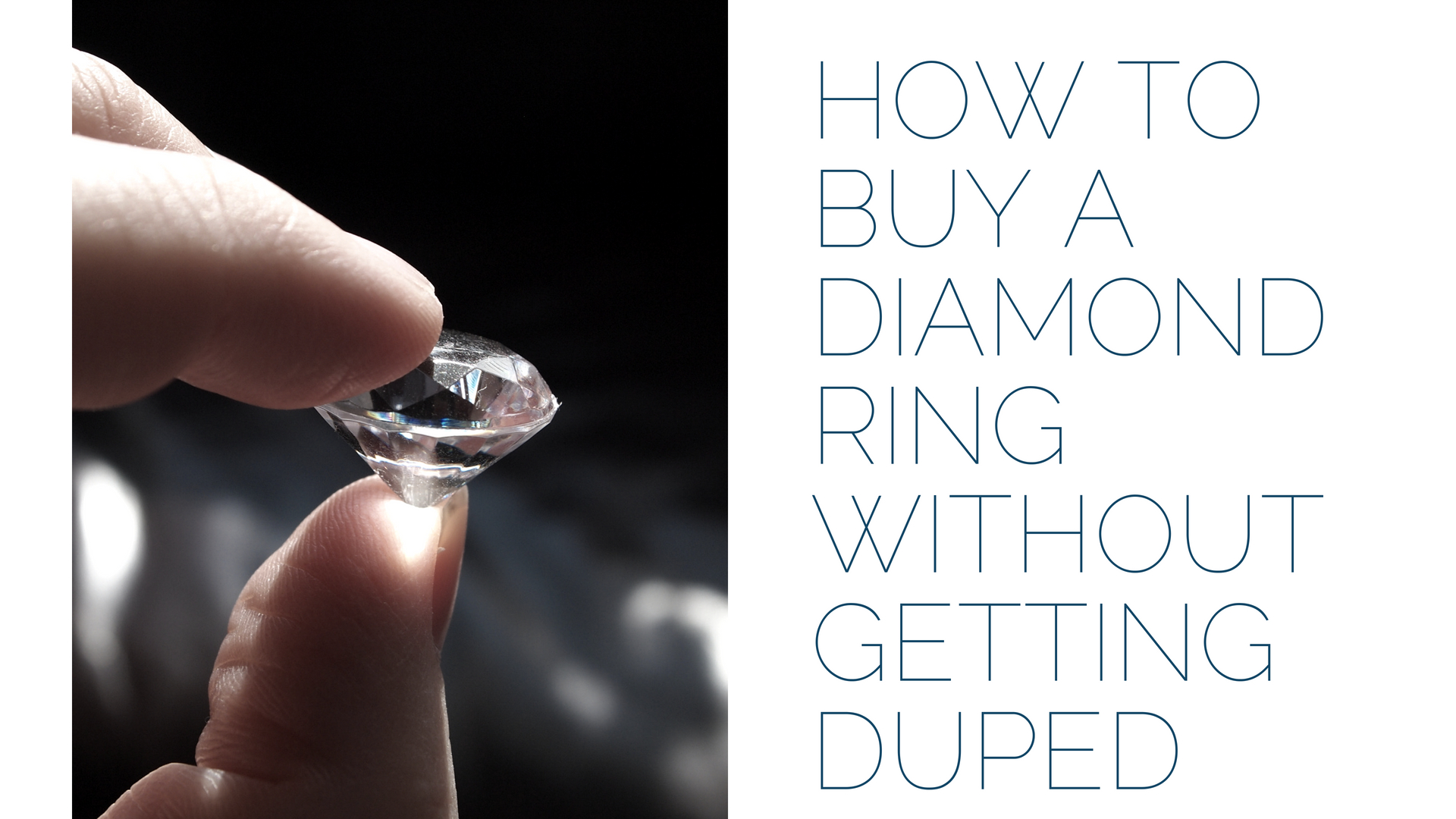 How to Buy a Diamond Ring without getting duped