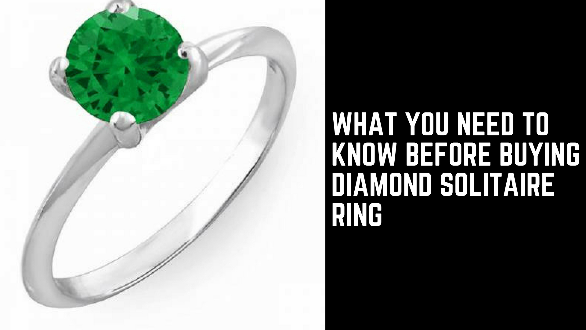 What You Need To Know Before Buying Diamond Solitaire Ring